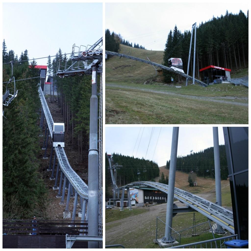 Nejvyšší vrch Chopok a lyžařské středisko Jasná